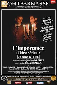 l'importance de Wilde