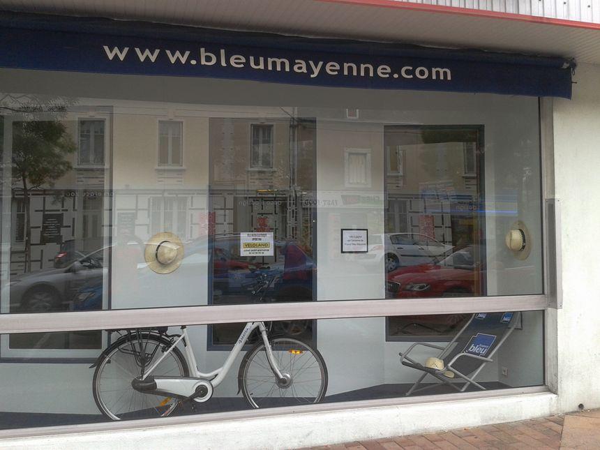 Vélo vitrine
