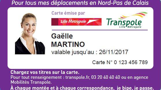 carte pass pass lille La carte Pass Pass arrive à Lille