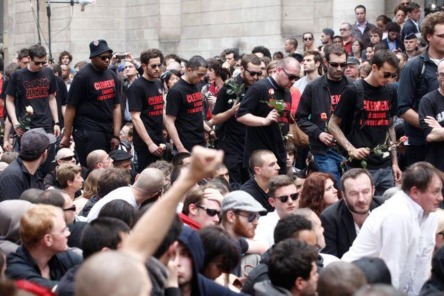 Manifestation en hommage à Clément Méric
