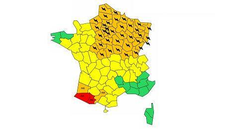 Plusieurs départements ont été placés en vigilance par Météo France