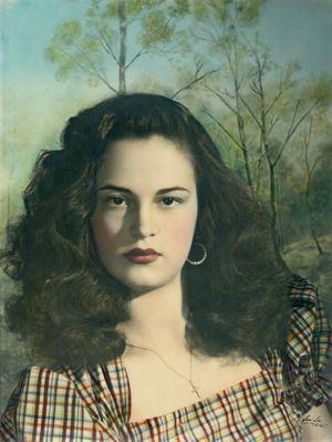 Van-Leo - Beauté italienne - Le Caire, Égypte, 1950 - Collection AIF/Van-Leo - Avec l'aimable autorisation de la Fondation arabe