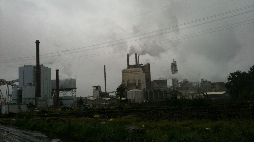 L'usine Smurfit Kappa à Biganos