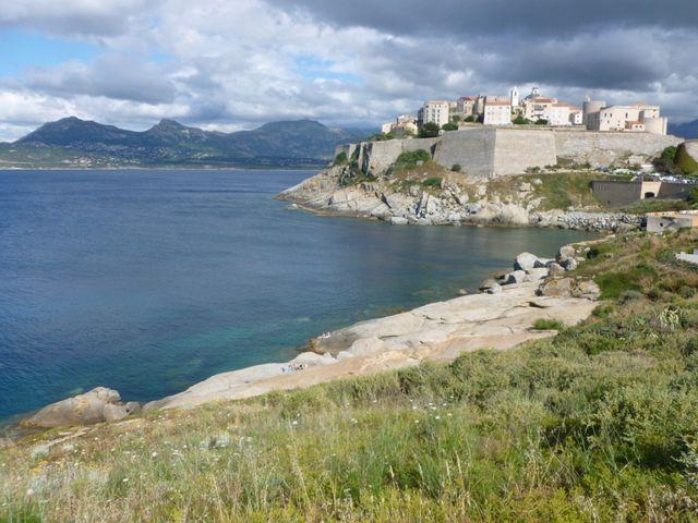 La citadelle d'Ajaccio (Corse-du-Sud)