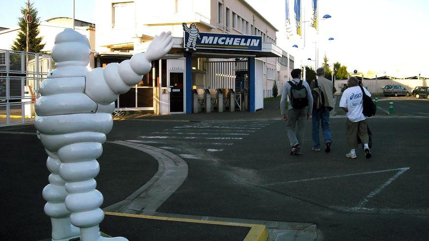 Le site de Michelin à Joué-les-Tours