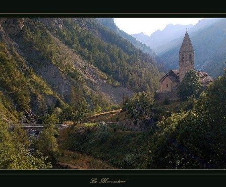 Village dans le Mercantour