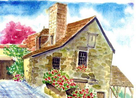 Une page d'histoire : maison champenoise