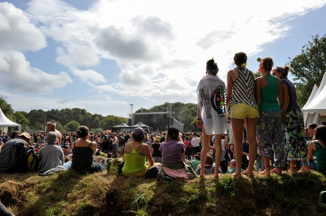 Ambiance au festival du bout du monde