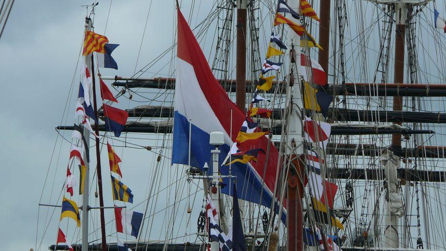 Mâts et cordages - Armada 2013