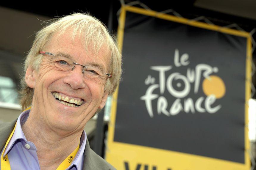 Daniel Mangeas, le speaker du Tour de France