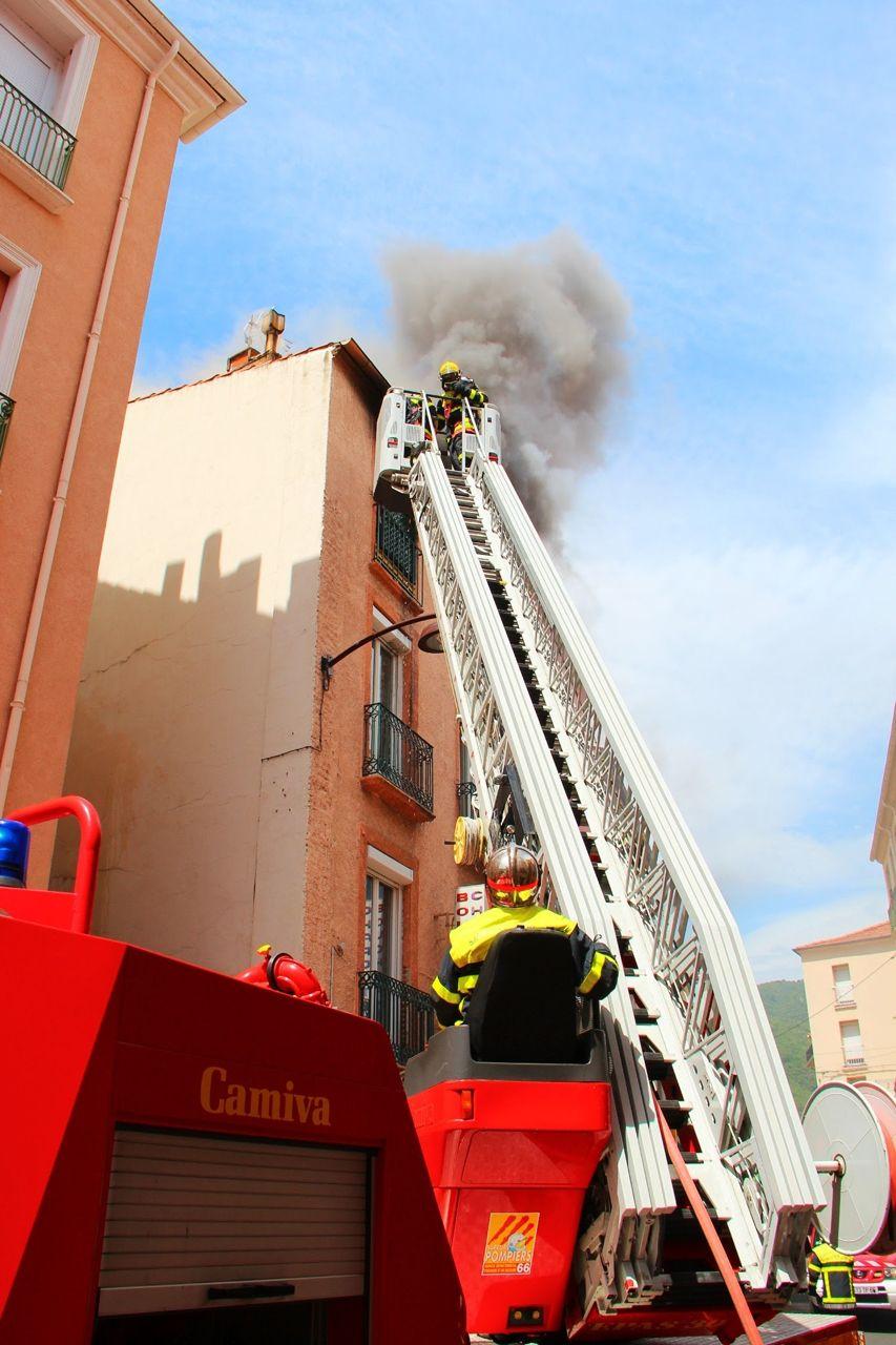 L'incendie s'est déclaré au 3e étage