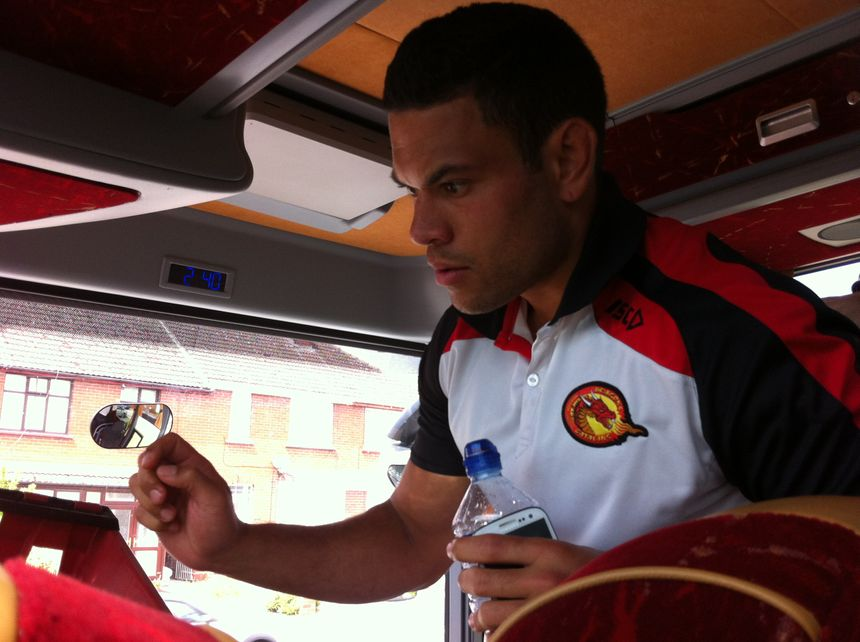 Daryl Millard, joueur des Dragons Catalans