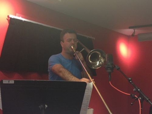 Daniel Zimmermann au studio 61 de France Inter