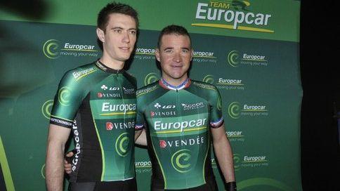 Pierre Rolland et Thomas Voeckler.