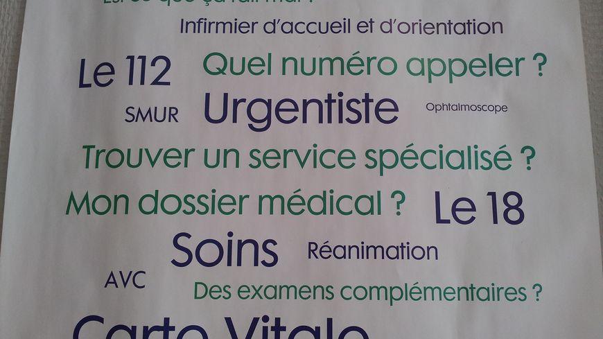 Urgences Affiche Conseil Colmar Hopital
