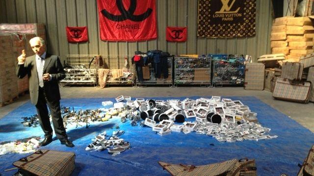 Destruction de produits de contrefaçon à Marseille