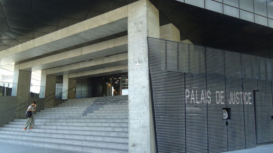 Le siège de la Cour d'appel de Caen