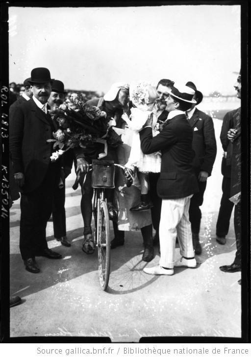TDF arrivée 1909