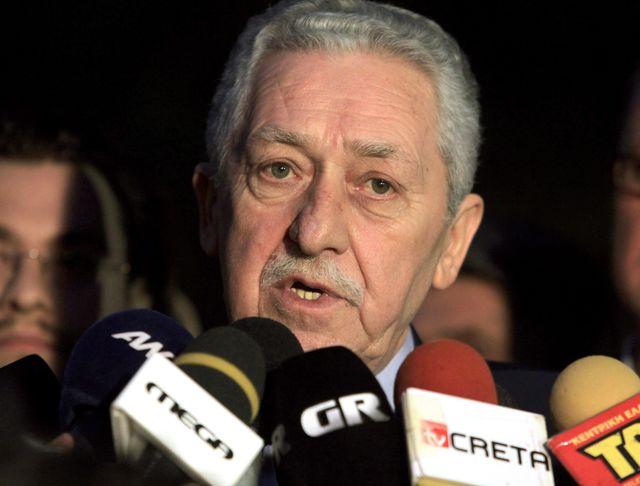 Fotis Kouvelis, leader de la Gauche démocratique (Grece)