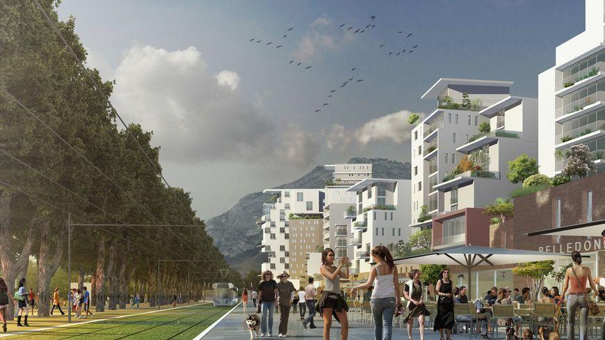 1200 logements sont prévus à l'Esplanade