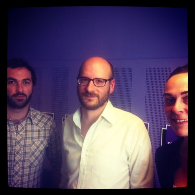 Erwan Leduc, Stéphane Régy et Fabienne Lesage