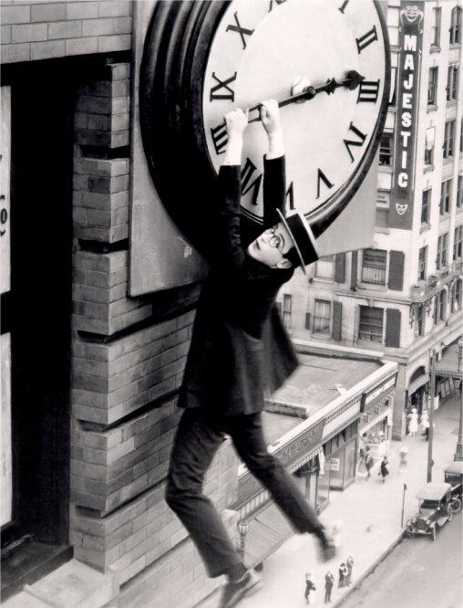 Harold Lloyd /Safety last!