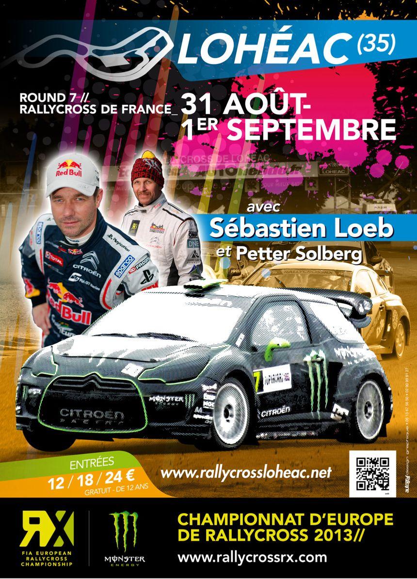 Affiche Rallycross Lohéac 2013