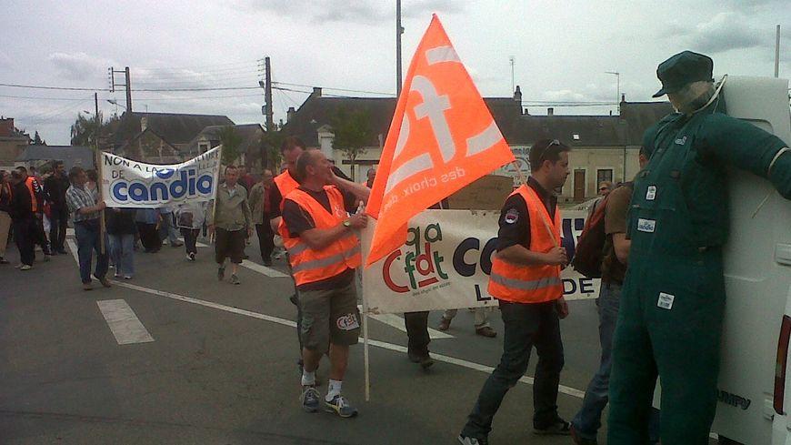 La marche des Candia pour l'emploi a peu mobilisé au Lude