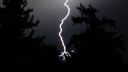 Photo d'illustration : un orage