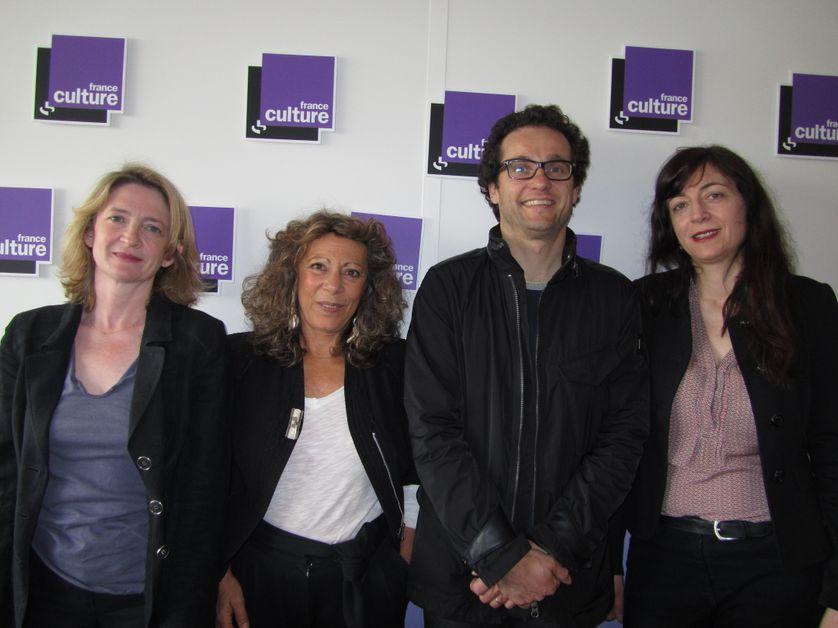 Isabelle Alfandary, Barbaba Cassin, Frédéric Vengeon et Julie Saada.
