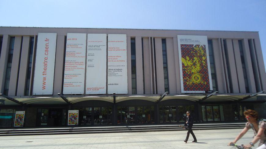 Le théâtre de Caen existe depuis 1961