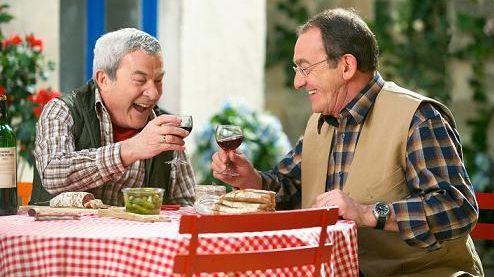 Martin Lamotte joue aux côtés de Jean Pierre Parnault dans « Nos chers voisins »