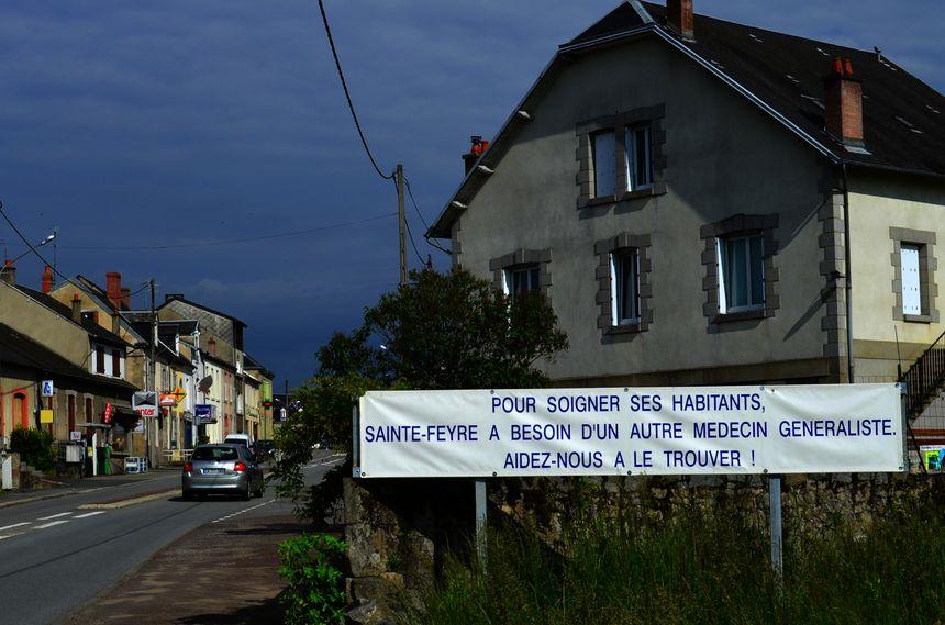 Sainte-Feyre et ses plus de 2.000 habitants attendent un médecin depuis 2011.