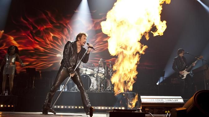 Johnny Hallyday promettait un show inoubliable