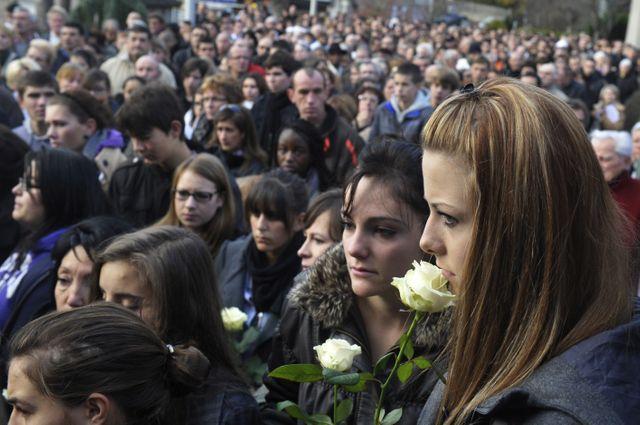 Marche blanche en hommage à Agnès