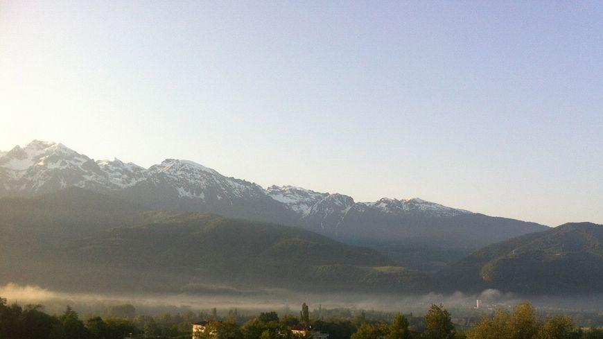 Le massif de Belledonne en Isère.