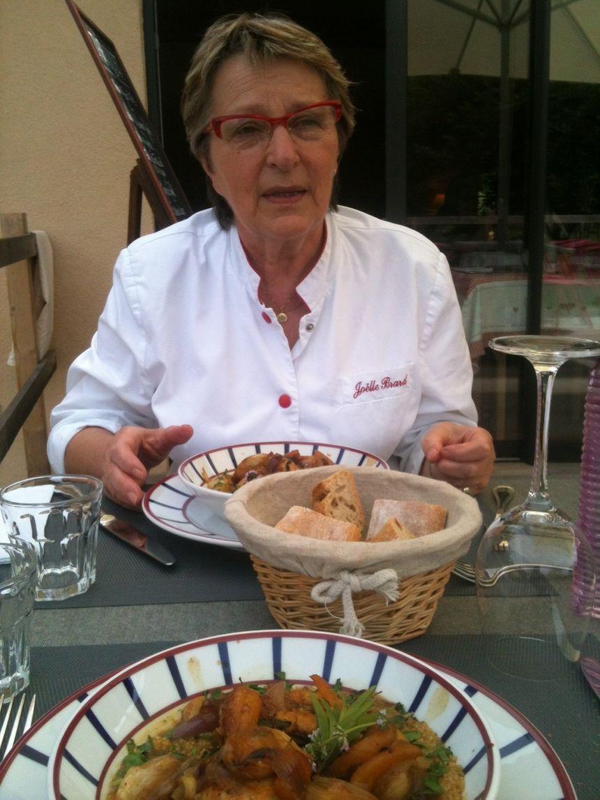 A table avec Joëlle Brard