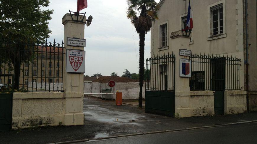 La caserne de la CRS 17 à Bergerac