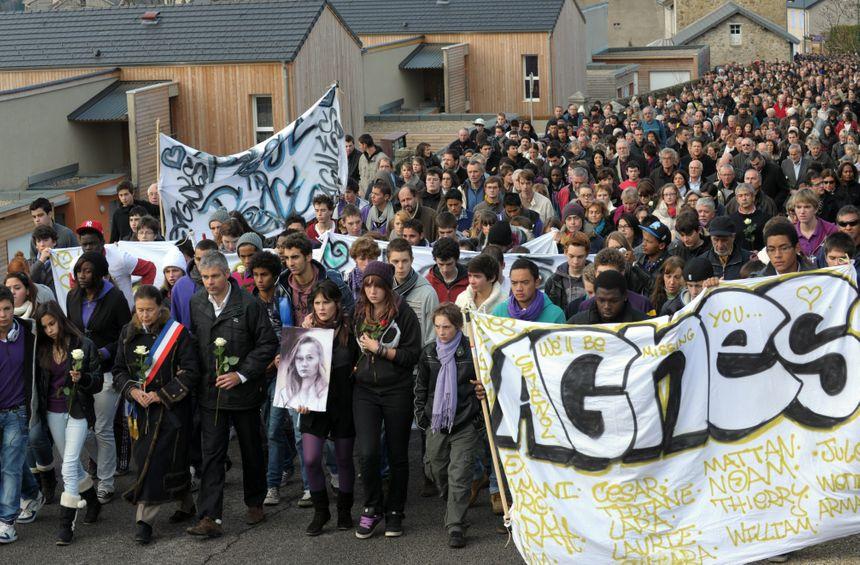 La marche blanche organisée le 20 novembre 2011