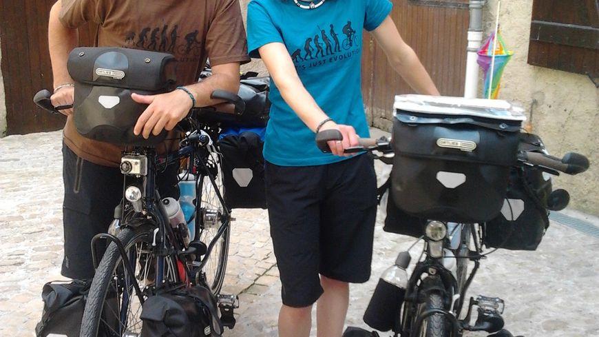 Le tour du monde à vélo de Marie et Nicolas