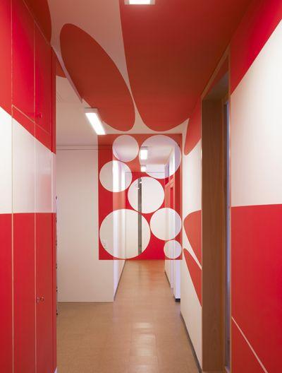 Hab Galerie / Hangar à bananes - Suite d'éclat - Felice Varini
