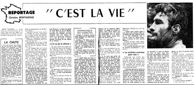 1973 chute Poulidor