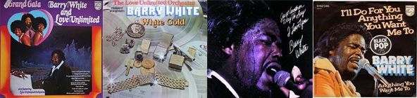 Disques, Barry White