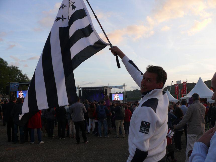 Drapeau breton sur l'armada