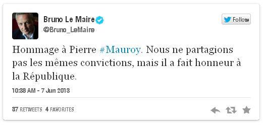 tweet Bruno Le Roux