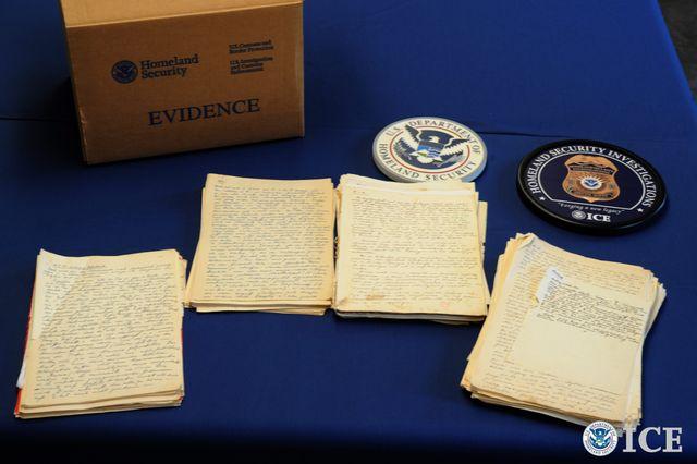 Les carnets d'Albert Rosenberg retrouvés aux Etats-Unis