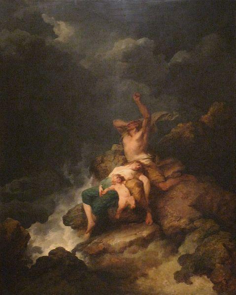 Le Déluge, de Philippe-Jacques de Loutherbourg