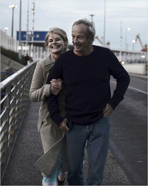 """Fanny Ardant et Patrick Chesnais dans """"Les beaux jours"""""""