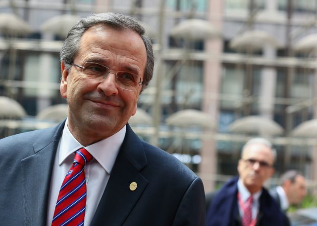 Antonis Samaras, premier ministre grec