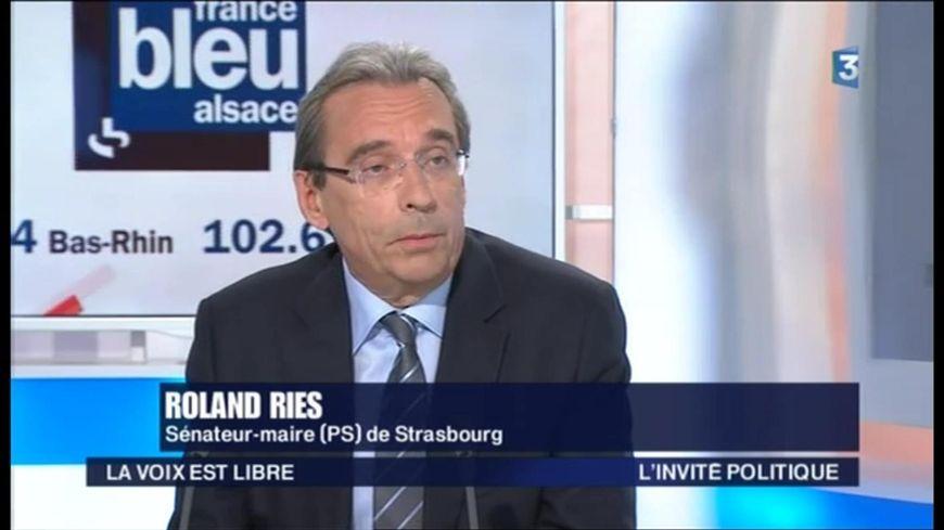 """Roland Ries dans l'émission """"La Voix est libre"""" sur France 3"""